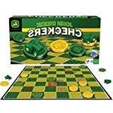 John Deere Tractor Checkers And Gameboard