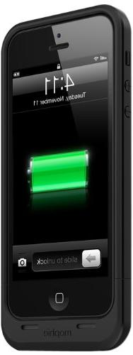 mophie juice pack Air for iPhone 5/5s/5se  - Black