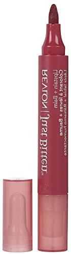 Revlon Just Bitten Lipstain Plus Balm, Victorian, 0.14 Ounce