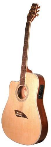 Kona K2 Acoustic Electric Dreadnought Cutaway Guitar in