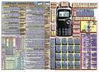 KENWOOD TH-F6A AMATEUR HAM RADIO DATACHART LTR SZ GRAPHIC