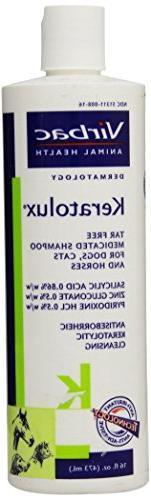 Virbac Keratolux Shampoo 16 oz