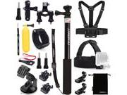Luxebell Accessories Kit for Gopro Hero 5, Session 5, Hero 4