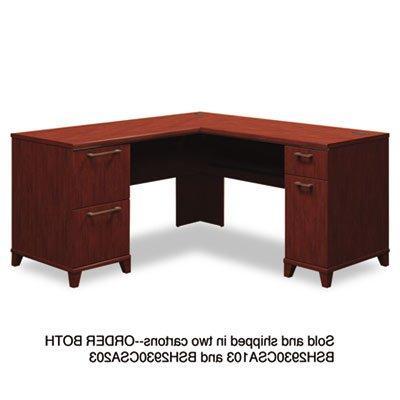 L Shaped Desk,9354303PCOM,29 X52 X54, Cherry