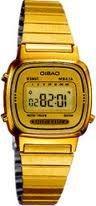 Casio Women's LA670WGA-9 Gold Stainless-Steel Quartz Watch