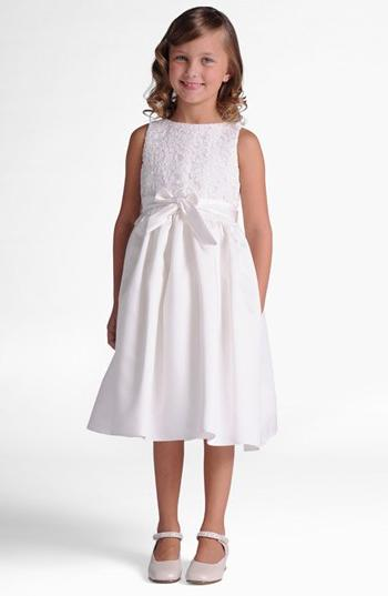 Girl's Us Angels Lace Dress, Size 12 - Ivory