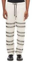 Hood by Air Lace-Up Sweatpants-Nude