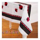LADYBUG PLASTIC TABLE COVER ~ Birthday Party Supplies Lady