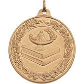 "Lamp Of Learning Medals - 2"" Gold"