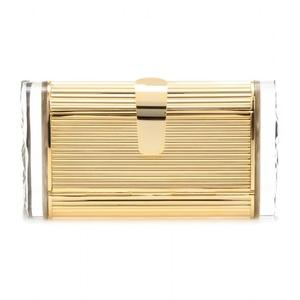 Lara Metal Box Clutch