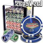 NEW 200 PC Las Vegas 14 Gram Clay Poker Chips Bulk Lot