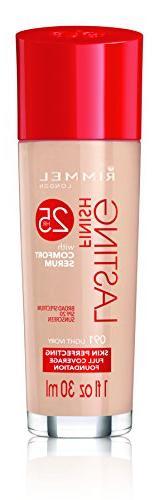 Rimmel Lasting Finish Foundation, Light Ivory, 1 Fluid Ounce