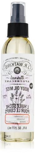 J R Watkins Lavender Body Oil Mist, 6 Fluid Ounce - 1 Each