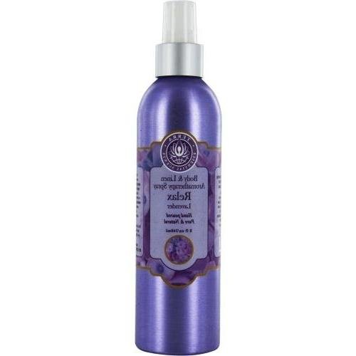 ROOM & LINEN by RELAX LAVENDER AROMATHERAPY SPRAY 8 OZ ROOM