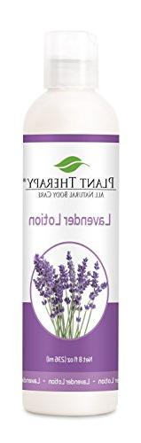 Plant Therapy Lavender Lotion 8 oz Aromatherapy Natural,