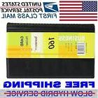Leather 160 Cards Business Name ID Credit Card Holder Book