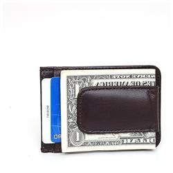 Mens Leather Money Clip Slim Front Pocket Magnetic ID Credit