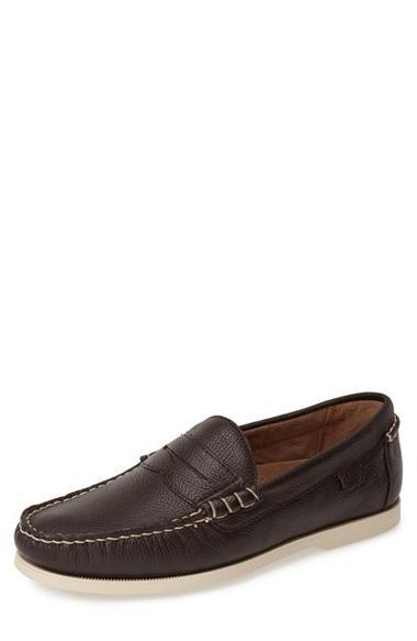 Men's Robert Graham 'Gansevoort' Leather Penny Loafer, Size