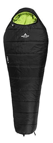 TETON Sports LEEF 0F Ultralight Mummy Sleeping Bag; 0 Degree