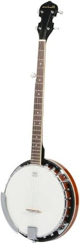 Left Hand 5 String Banjo 24 Bracket with Closed Solid and