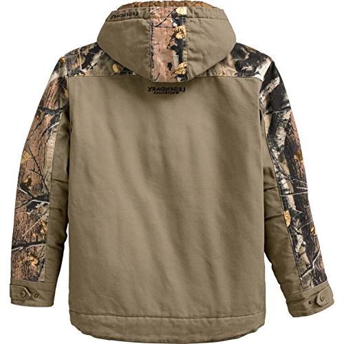 Legendary Whitetails Canvas Cross Trail Workwear Jacket