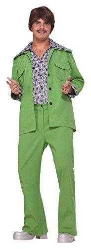Morris Costumes Men's LEISURE SUIT 70'S, GREEN, One size