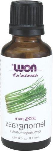 Now Foods Essential Oils, Lemongrass Oil, 1 fl oz