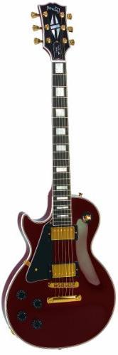 Gibson Les Paul Custom Electric Guitar, Wine Red