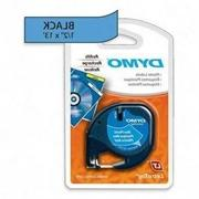 DYMO LetraTag Metallic Label Tape Cassette, 1/2in x13ft,