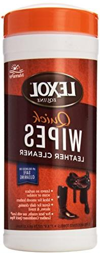 Manna Pro Lexol Leather Cleaner Quick Wipes - 25 pre-
