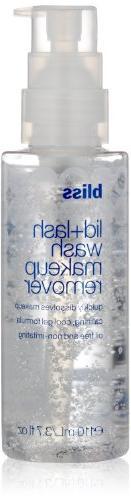 bliss Lid+Lash Wash Makeup Remover, 3.7 fl. oz
