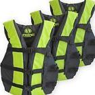 3 Pack Hardcore Adult Life Jacket PFD Type III Coast Guard
