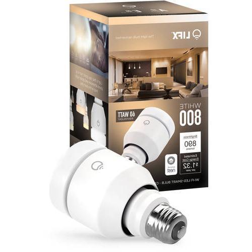 LIFX White 800 LED Smart Light Bulb