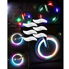 6 Bike Light Bicycle Cycling Spoke Wire Tire Tyre Silicone