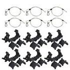 Lighting Accessory Pack x6 O-Clamp & Safety Cables