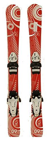 New Lil Flake Kids Jr. Shape Snow Ski with Tyrolia 4.5