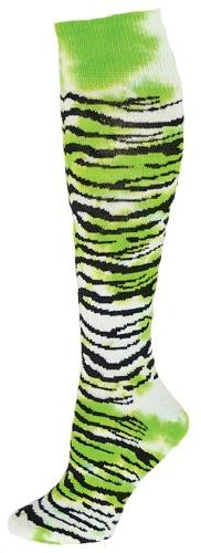 Red Lion Tie Dyed Tiger Athletic Socks