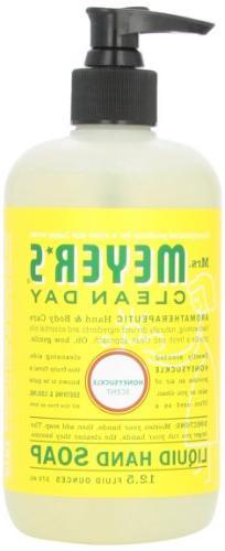 Liquid Hand Soap, Honeysuckle, 12.5 oz