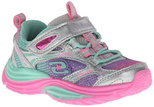 Skechers Kids Lite Shinez Swiftkicks Tennis Shoe