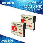 2 x 1150mAh Lithium-ion Camera Battery PACK For SONY NP-BG1