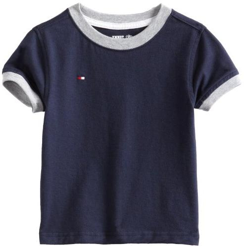 Little Boys' Core Crew Neck Ken Tee, Core Navy, 4/Regular