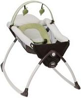 Graco Little Lounger™ Rocking Seat + Vibrating Lounger