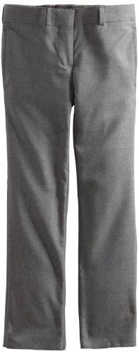 Brooks Brothers Little Boys' Plain Pant Junior, Gray, 4