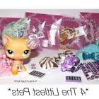 💖Littlest pet shop clothes 4pc random outfit LPS *CAT/DOG