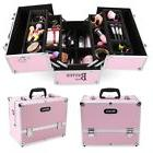 Large Size Jewelry Lockable Box Cosmetic Travel Organizer