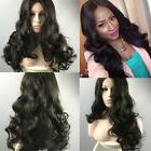 Women's Natural Long Curly Body Wavy Loose Hair Wigs Full