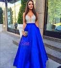 Long Formal Bridesmaid Dress Ball Gown Evening Party