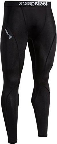 TESLA Mens Boys Long Pants Lightweight Compression Base