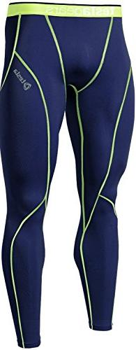TESLA Mens Boys Long Pants Lightweight Compression Base