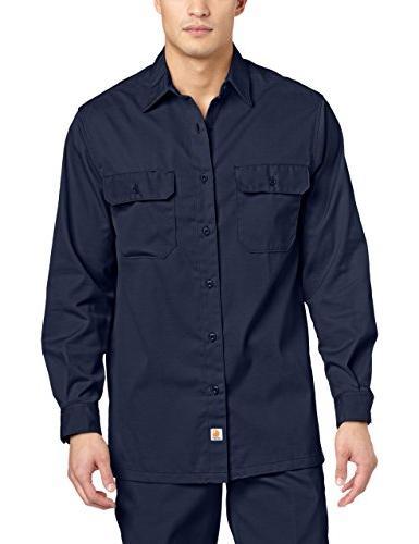 Dickies Men's Long Sleeve Twill Work Shirt